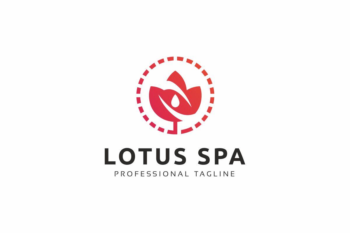 Lotus Spa Logo example image 2
