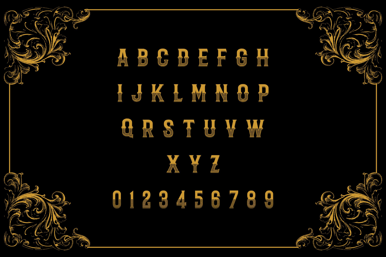 Badoet | Victorian Logo Fonts example image 4