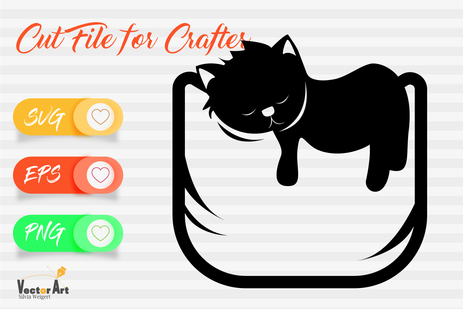 Mini Bundle - 3 Cat Themes - Cut files example image 10