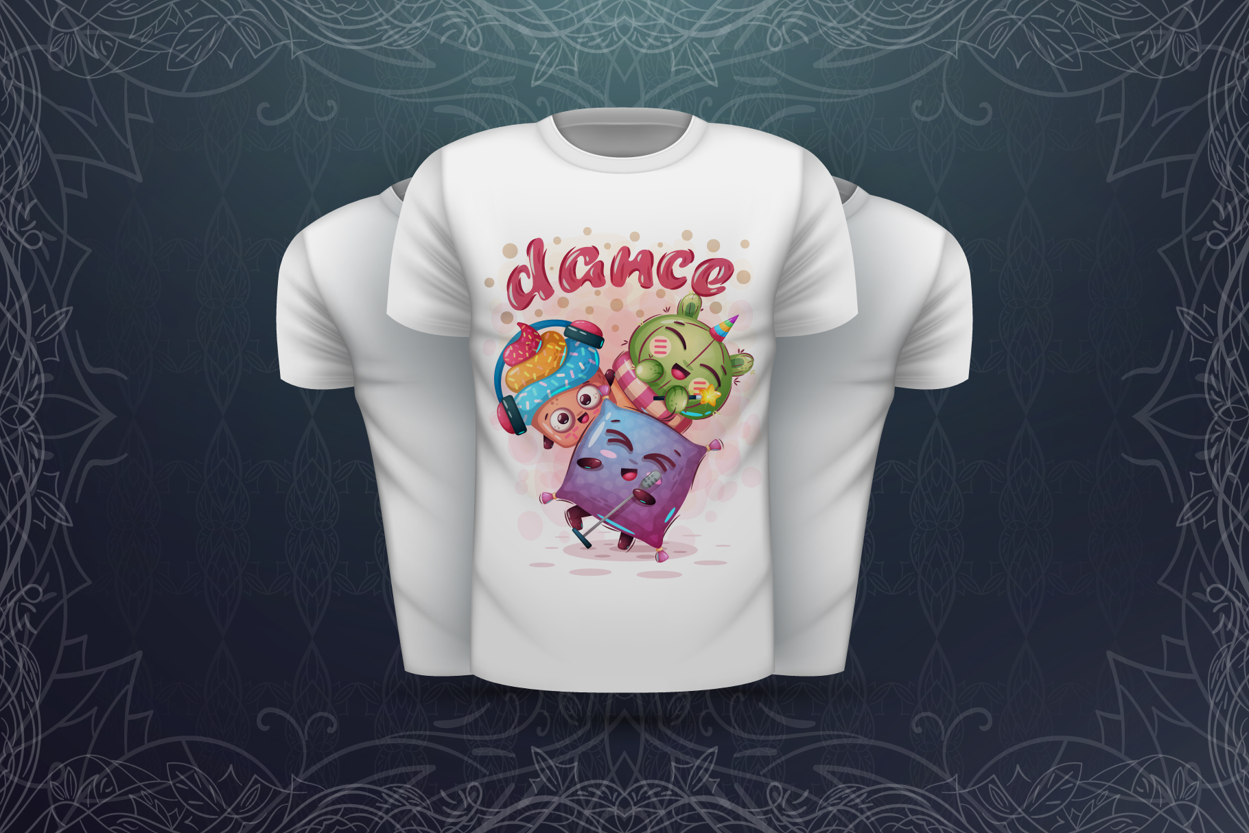 Sweet animals - for print t-shirt example image 7