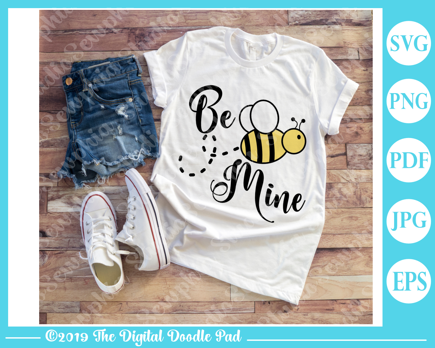 Be Mine by Digital Doodle Pad example image 2
