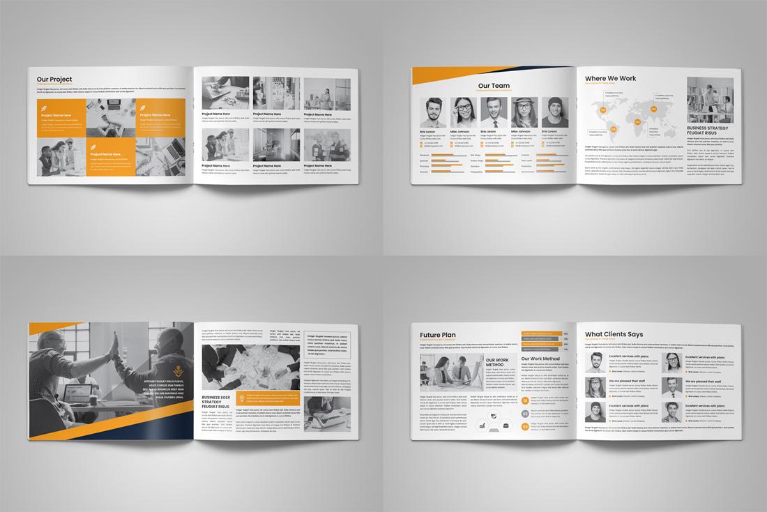 Company Profile Bundle example image 15
