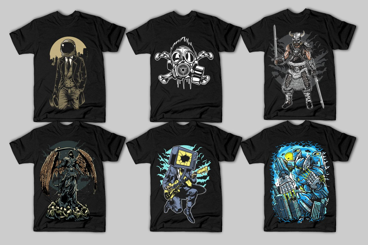 82 Tshirt Designs Bundle example image 6