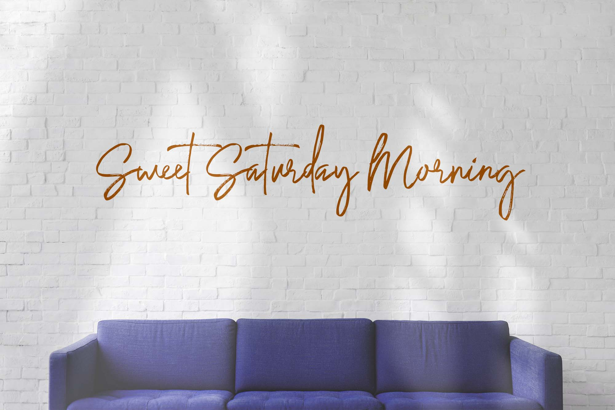 Saturday Lovin Font Collection example image 2