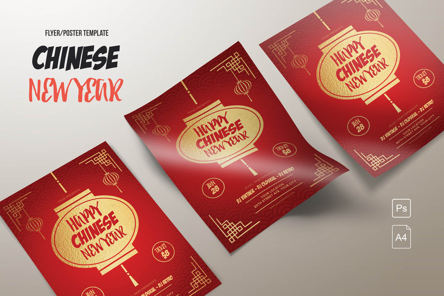 Chinese New Year Flyers example image 1