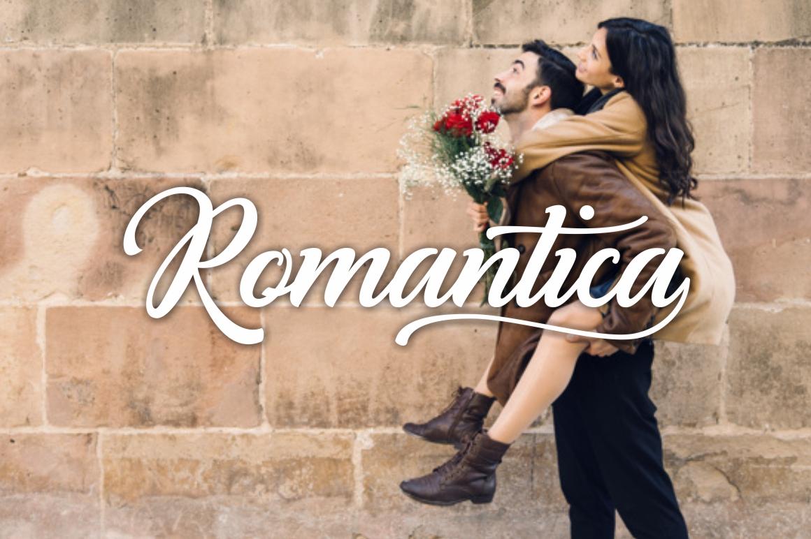 Romantina Font example image 3