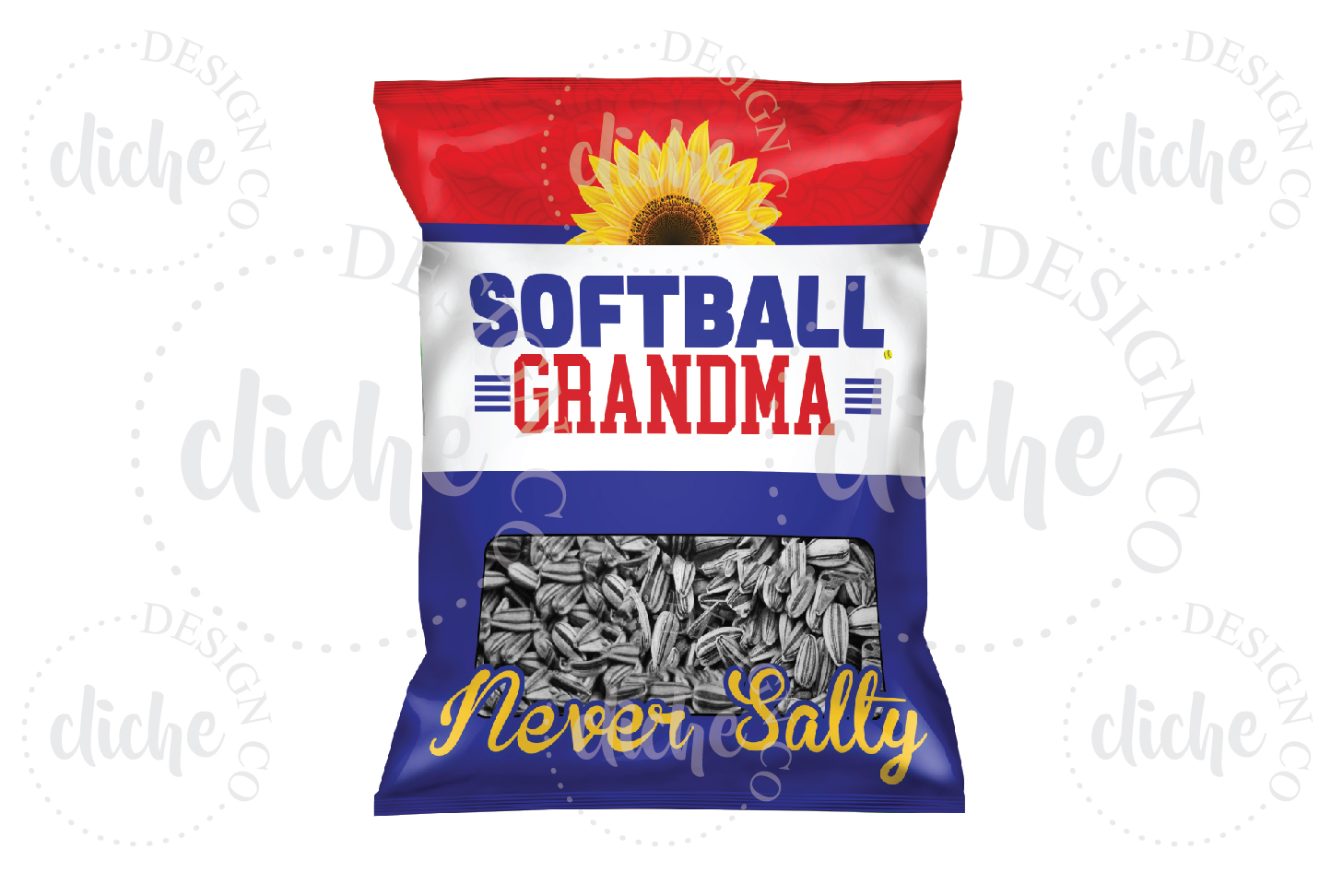 Softball Sublimation Design example image 1