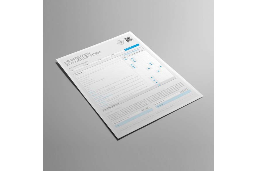 HR Interview Evaluation Form US Letter example image 4