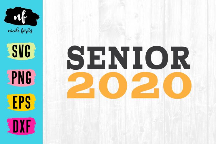 Senior 2020 Graduation SVG Bundle example image 9