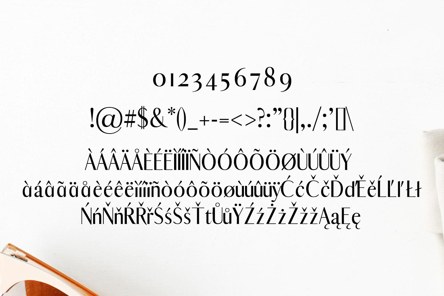 Abiah Sans Serif Font Family Pack example image 4