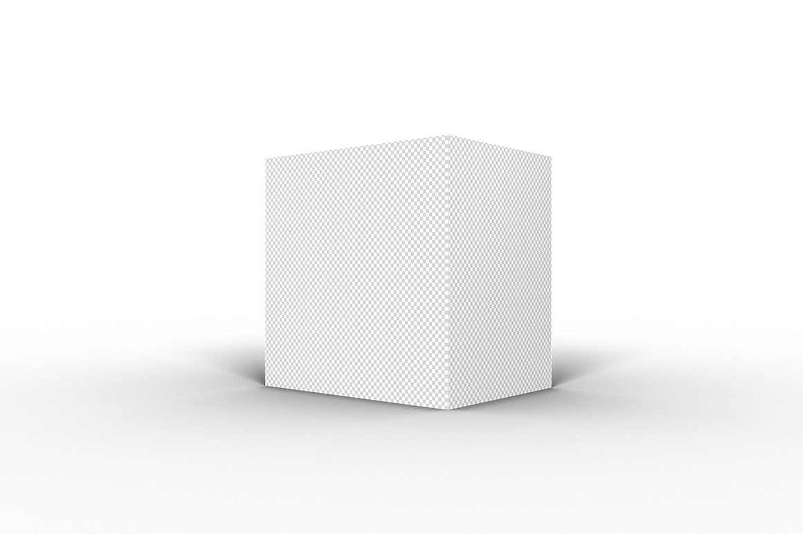 4.4.3 Simple 3D Box Mockup PSD example image 2