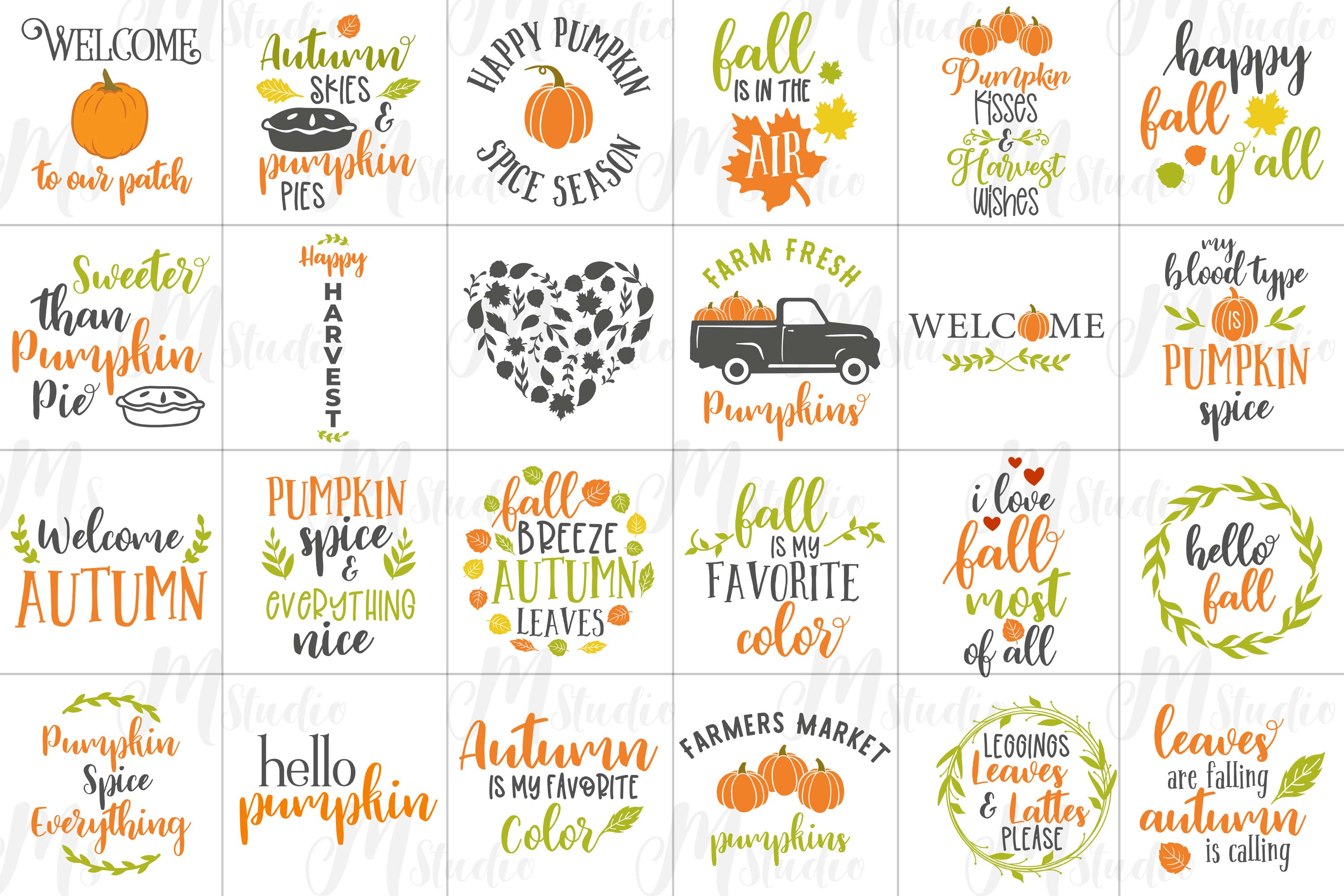 Fall SVG Bundle. example image 2