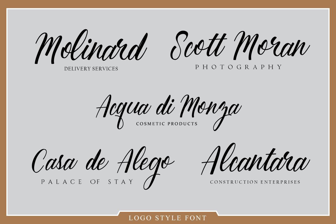 Goliath Font example image 2