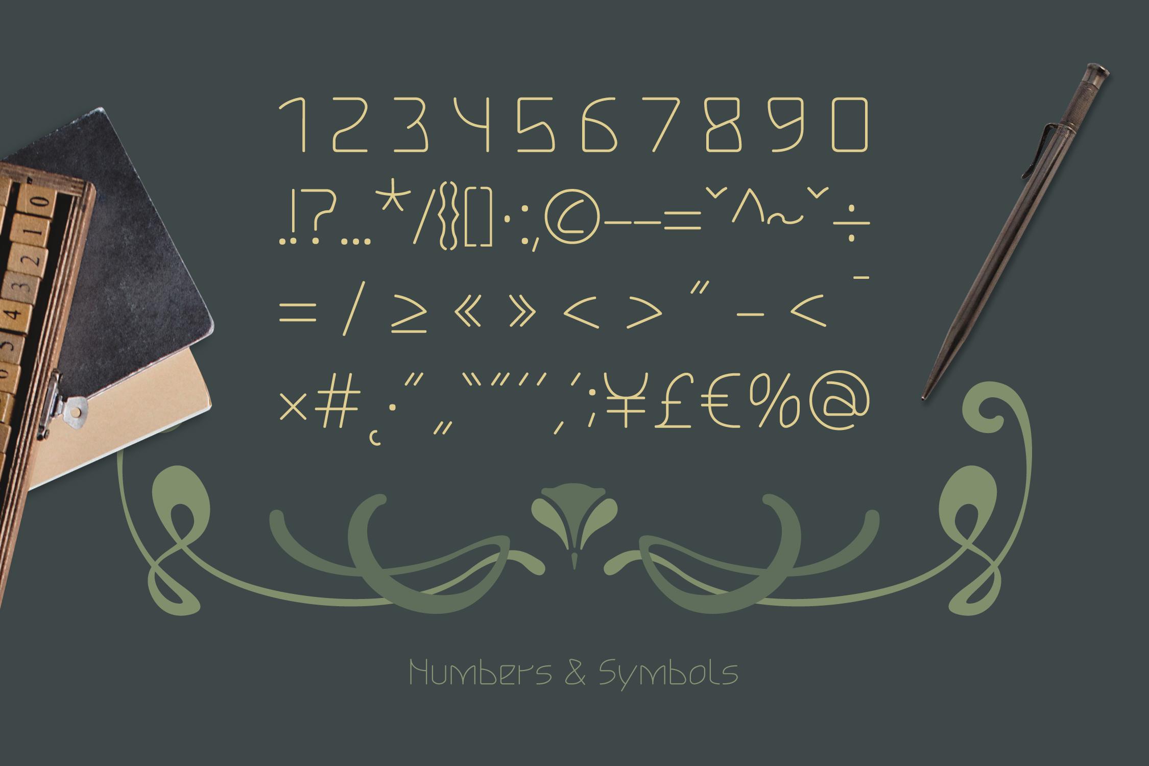 Lokka Extended Font example image 8