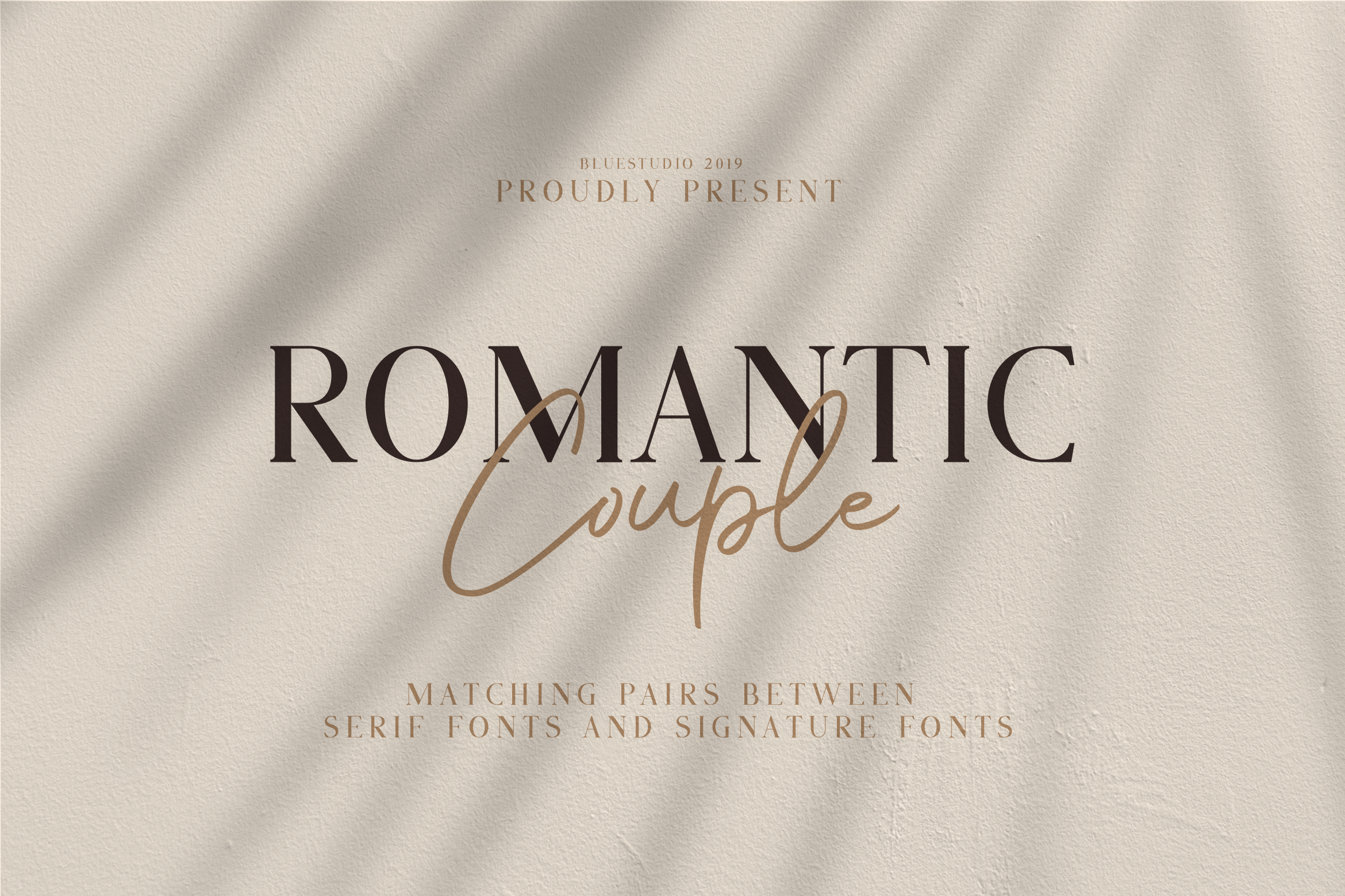 Romantic Couple // Font Duo example image 1