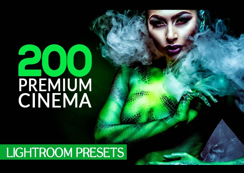 200 Premium Cinema Lightroom Presets (Presets for Lightroom 5,6,CC) example image 1
