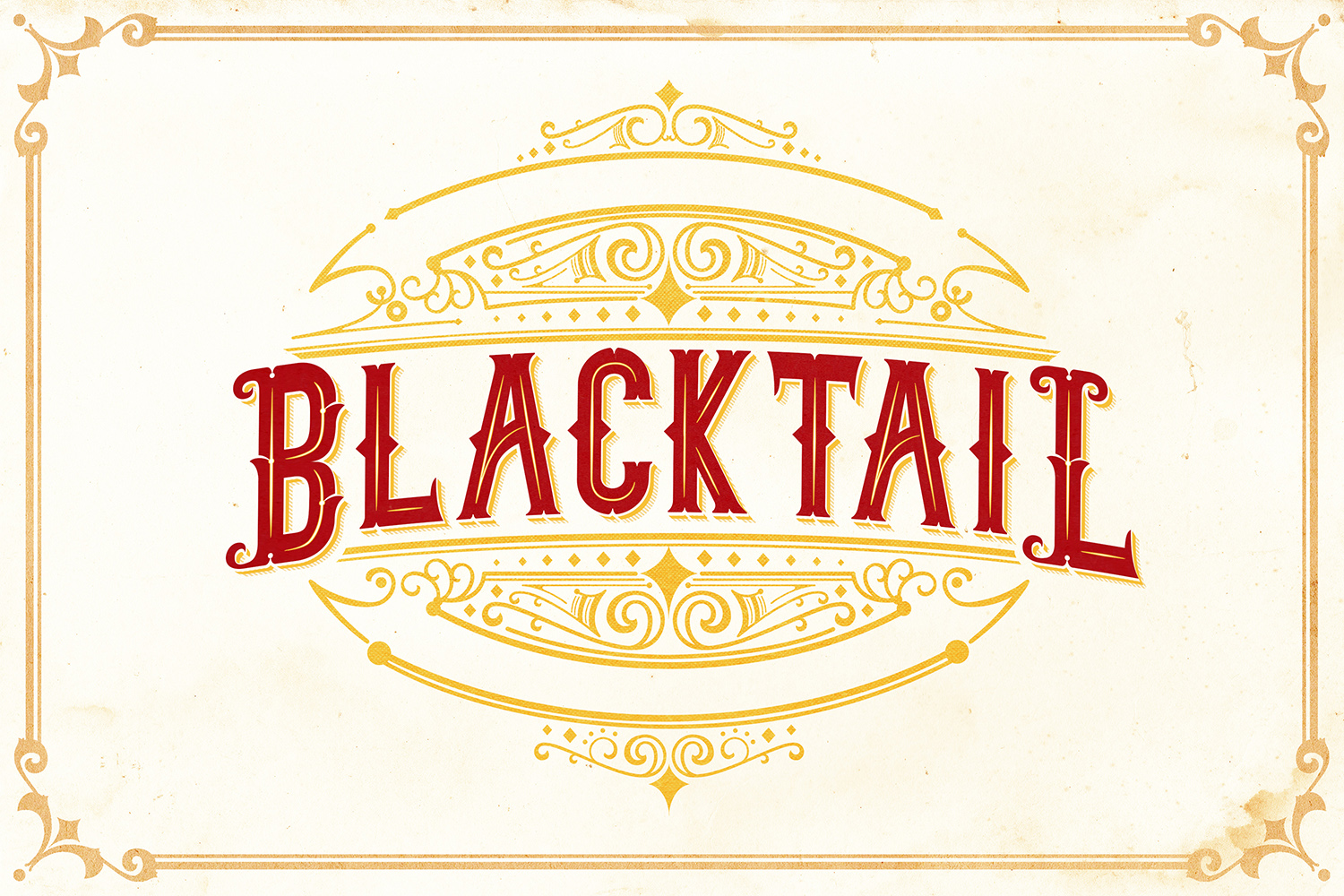 Blacktail Font -INTROSALE 25 example image 7