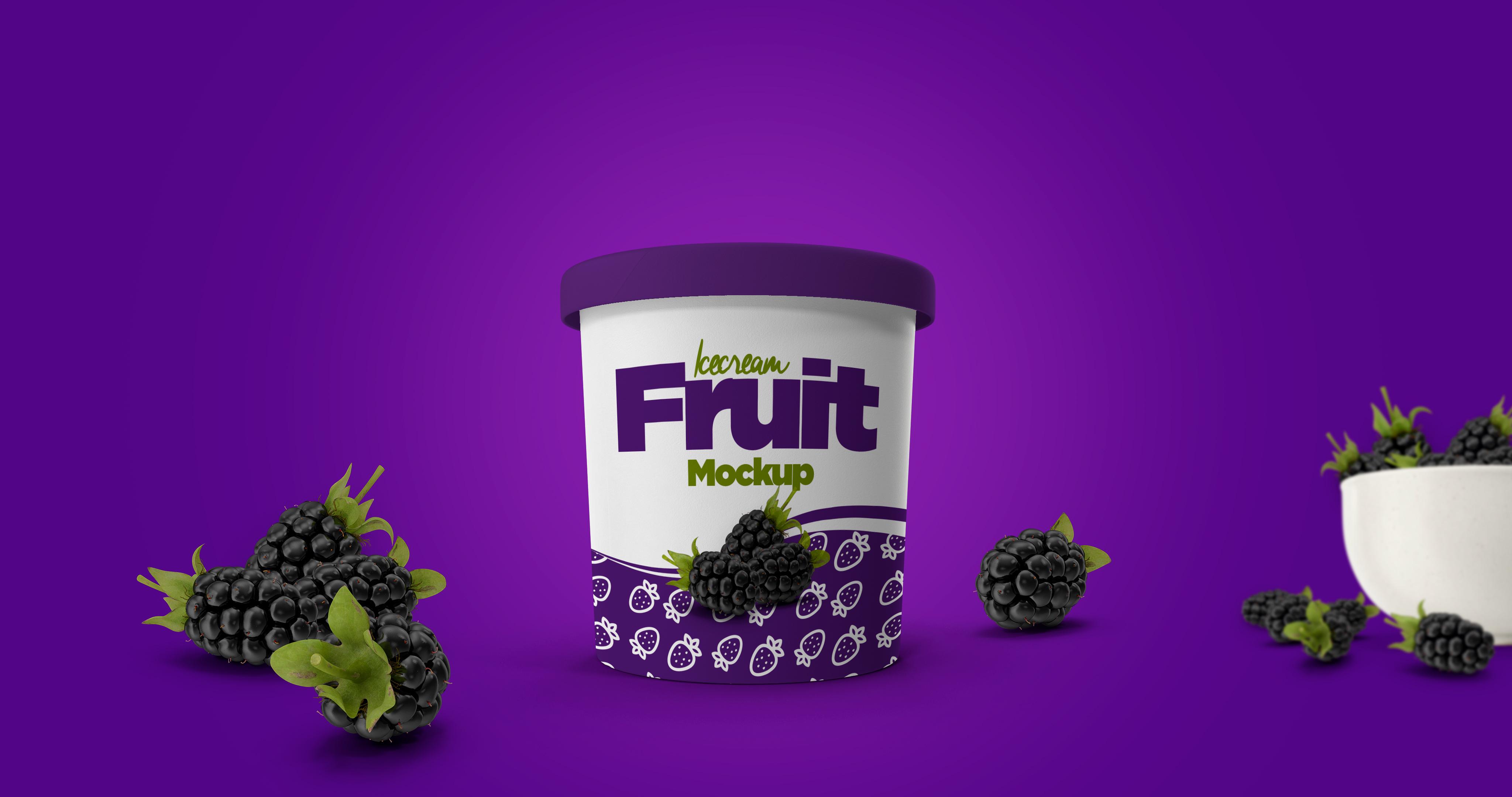 Ice Cream Cup Mockup example image 1