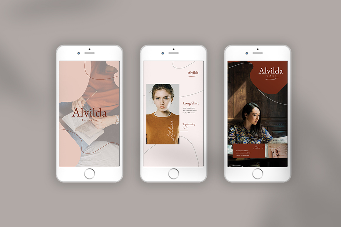 Alvida Instagram Stories Templates example image 7