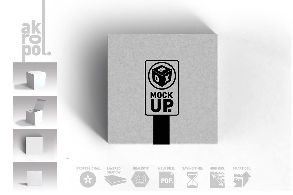 Package Box Mockups example image 10