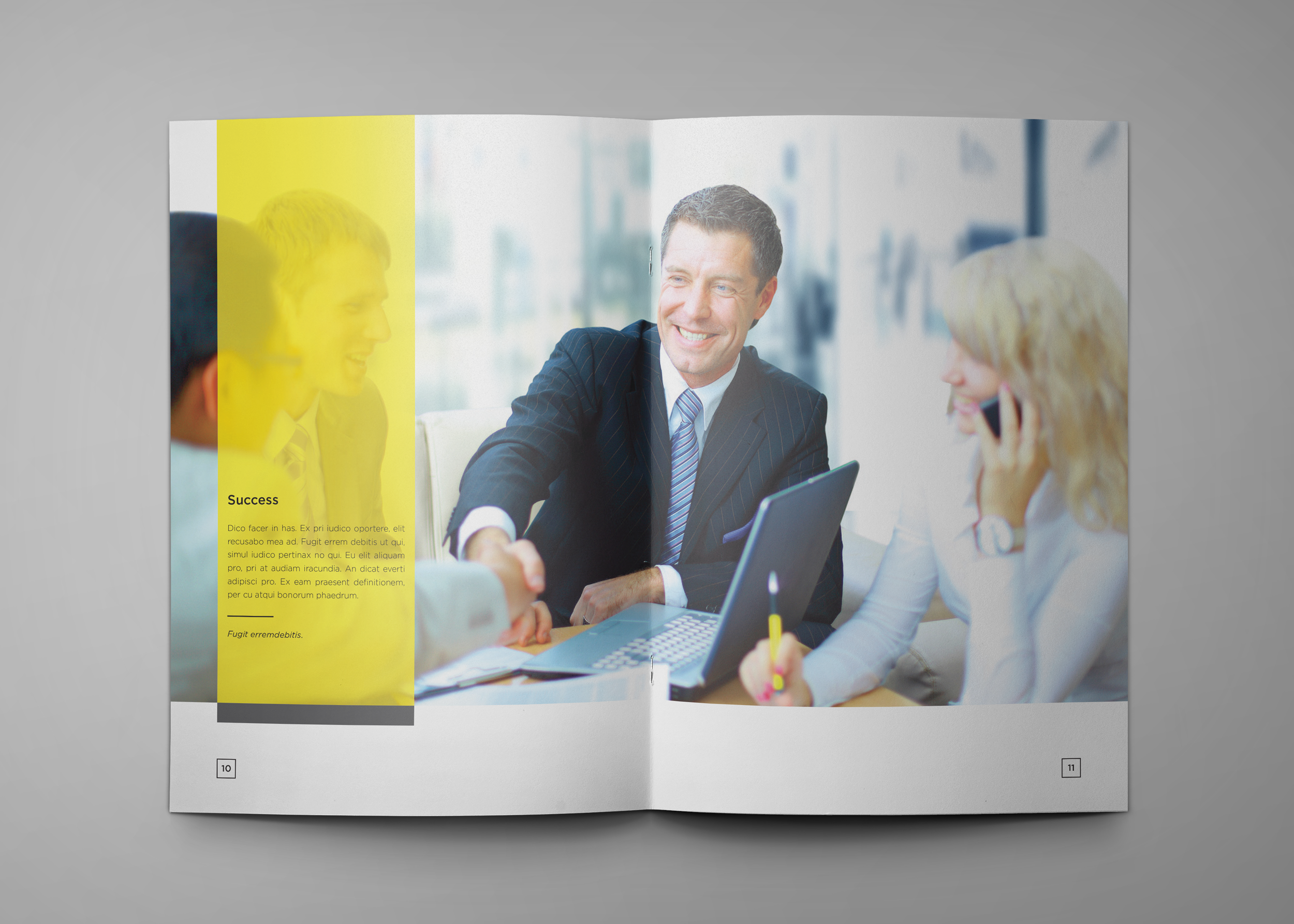 Corporate Company Profile example image 7