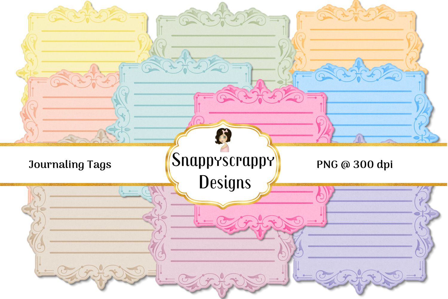 Journaling Tags/Labels example image 2
