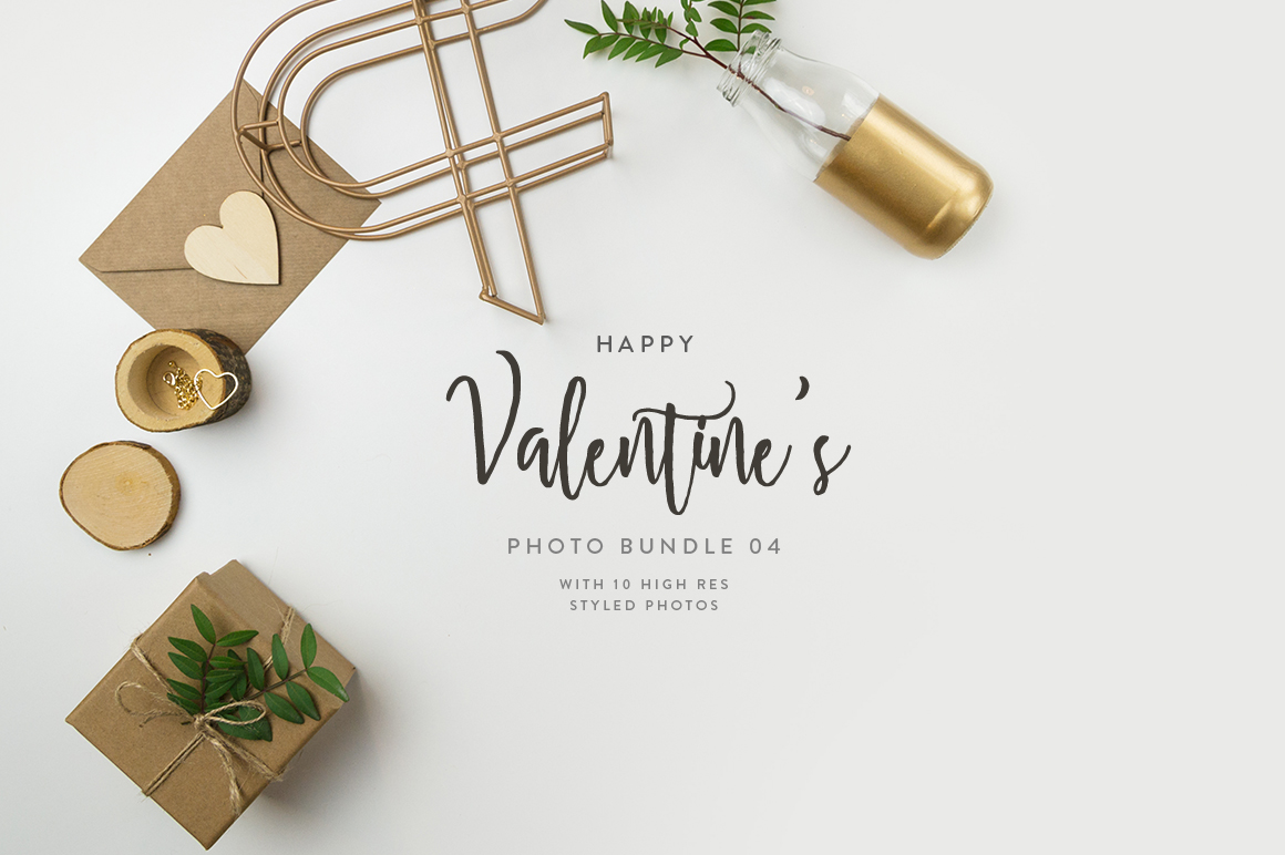 Valentine's Styled Photo Bundle - Natural Tones example image 9