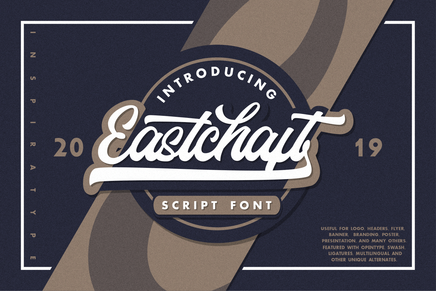 Eastchaft - Script Font example image 1