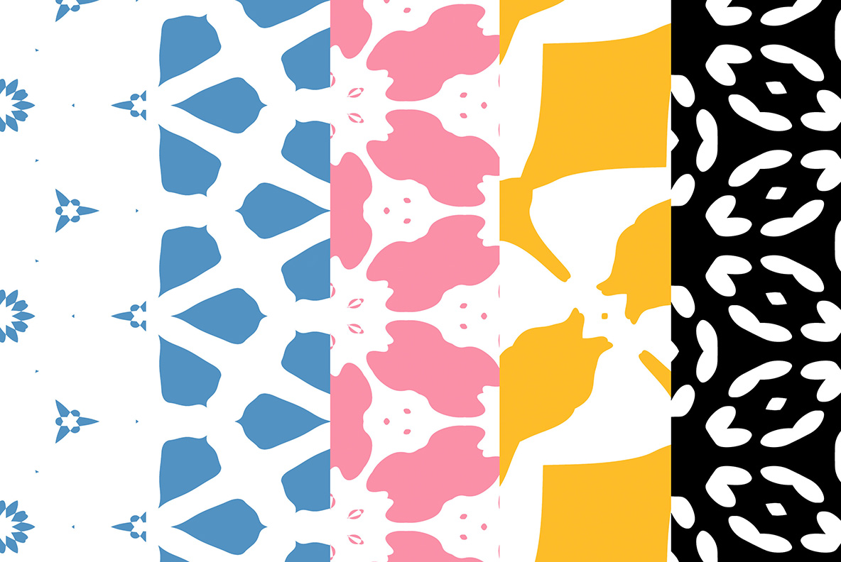 Abstract pattern backgrounds example image 3