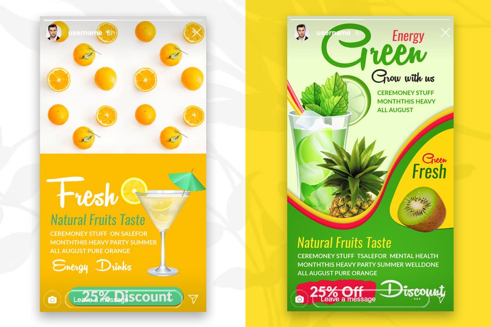 4 Instagram Stories - Food & Drink example image 2