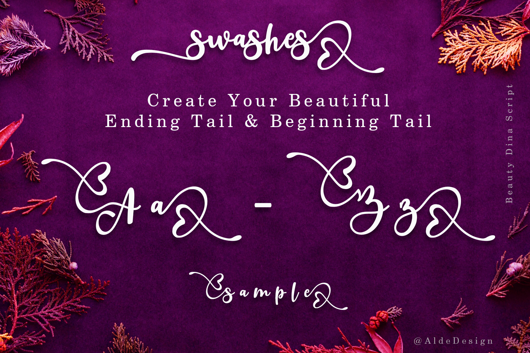 Beauty Dina | Beautiful Brush Script Font example image 7