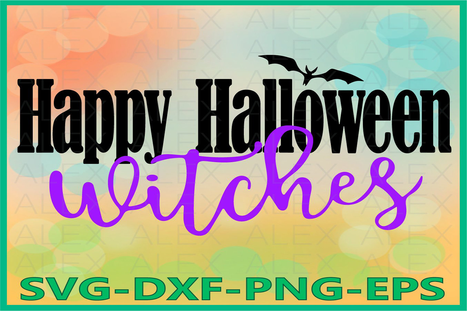 Happy Halloween Witches Svg, Halloween Witches, Witch png example image 1
