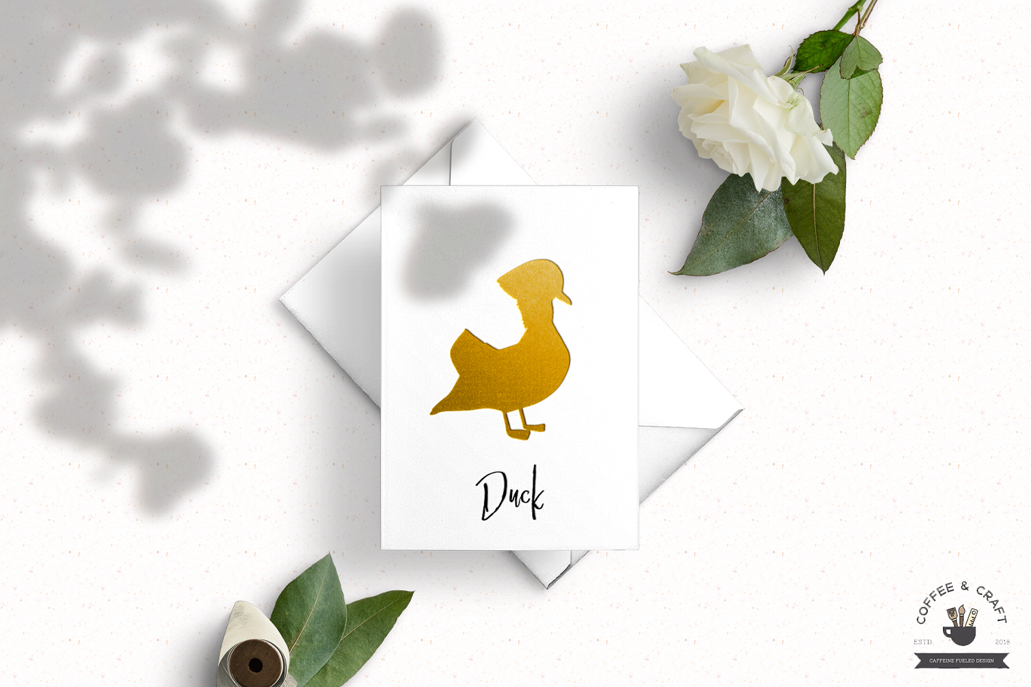 Duck Breeds Silhouettes example image 5