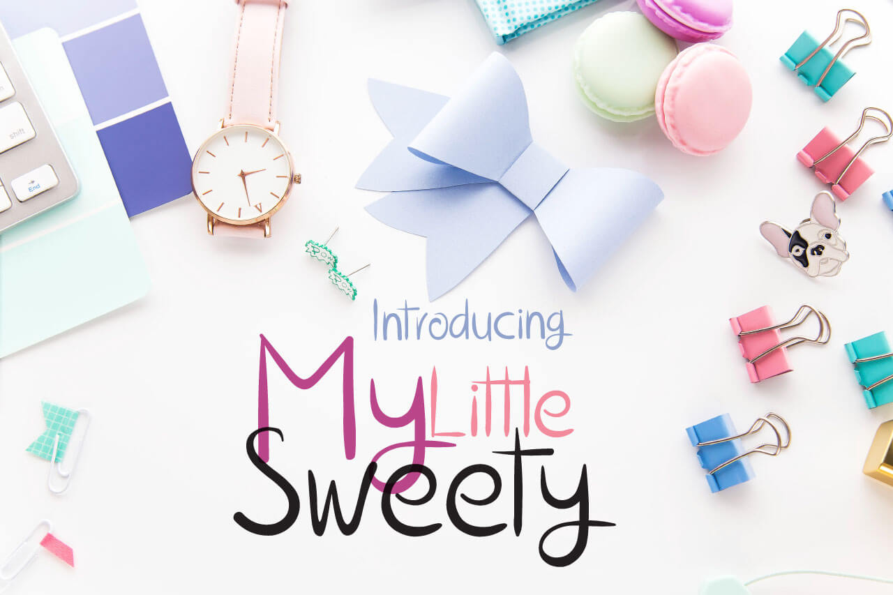 The My Little Sweety Font example image 1