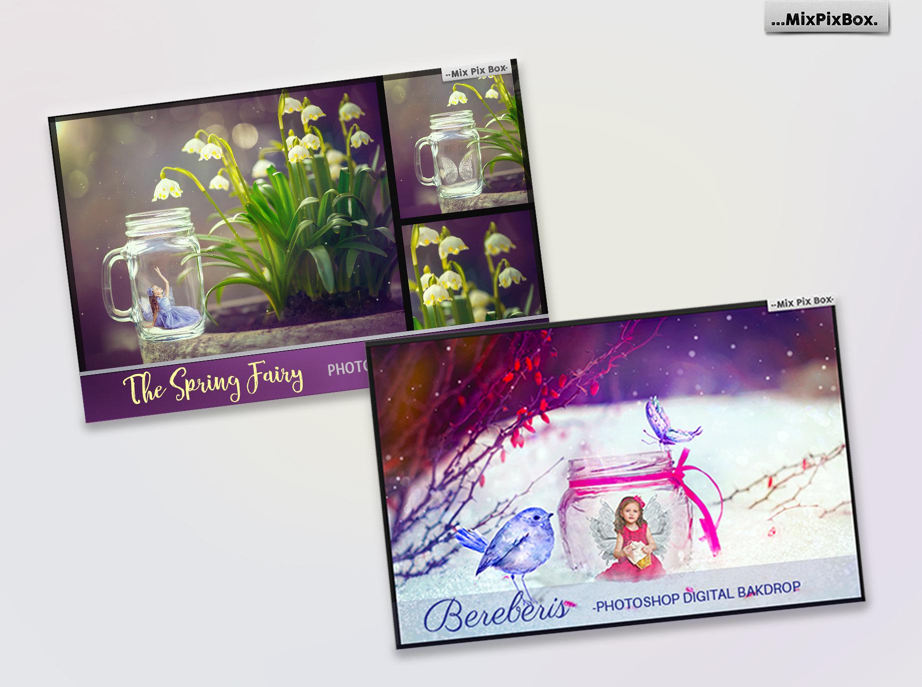Fairy Backdrops Bundle example image 4