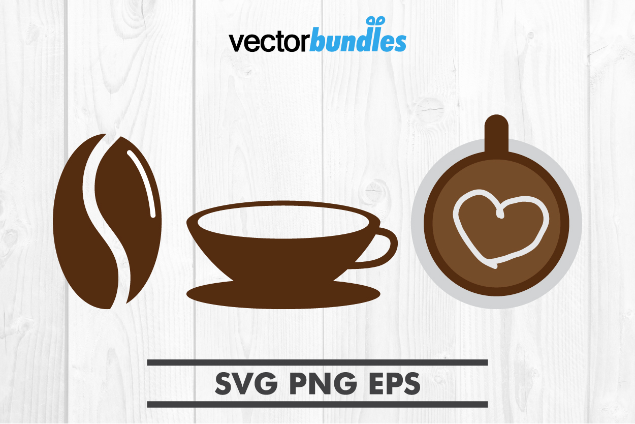 Coffee clip art svg example image 1