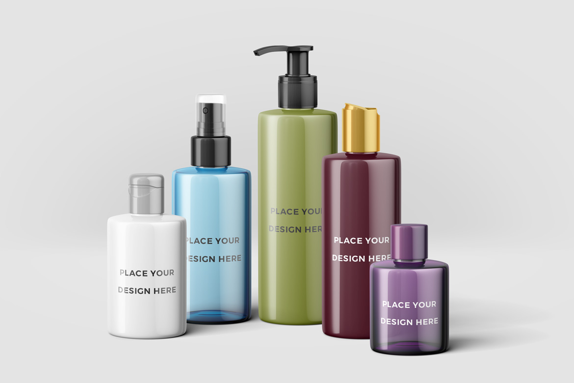 Cosmetic Bottles Mockup Vol.2 example image 2