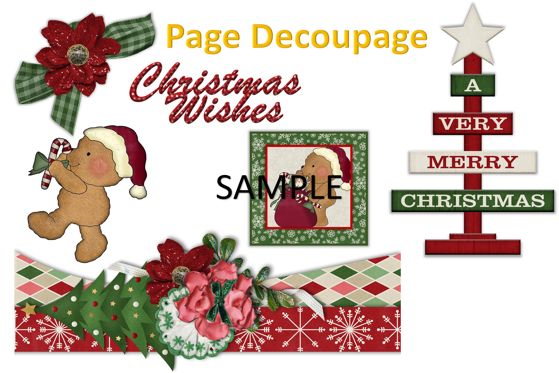 Children's Christmas Journal Kit with Free Ephemera example image 4