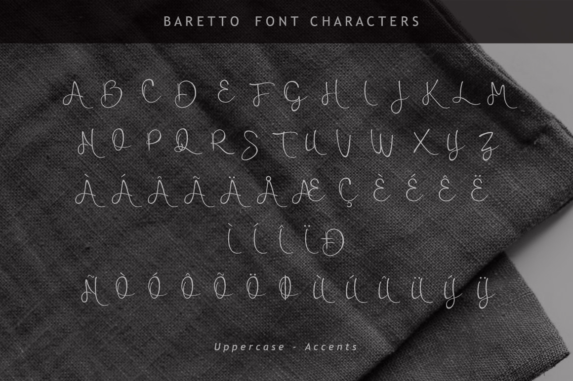 Baretto Font example image 9