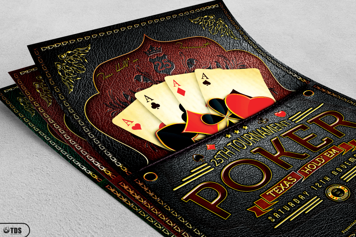 Poker Tournament Flyer Template example image 4