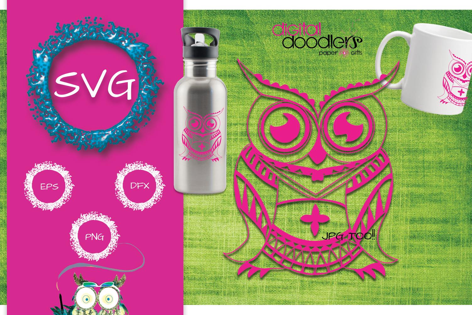 Mandala Owl example image 2