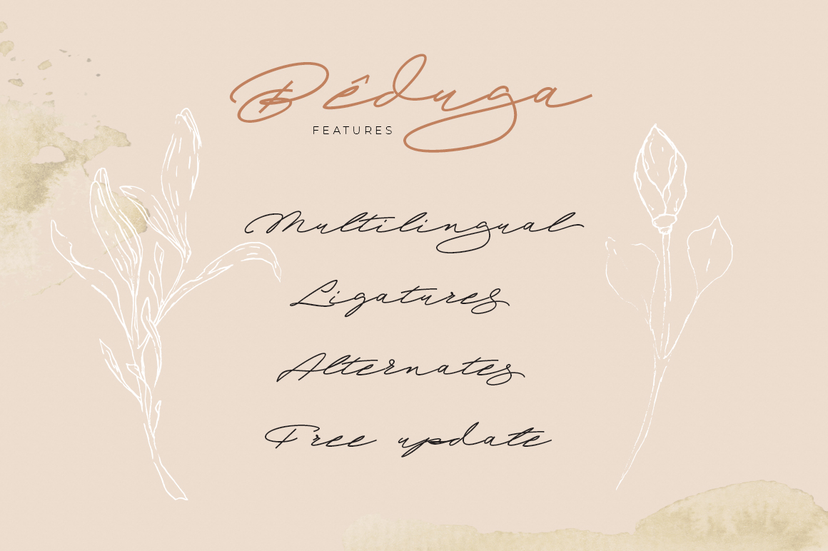 Beduga | Quick Handwritten example image 13