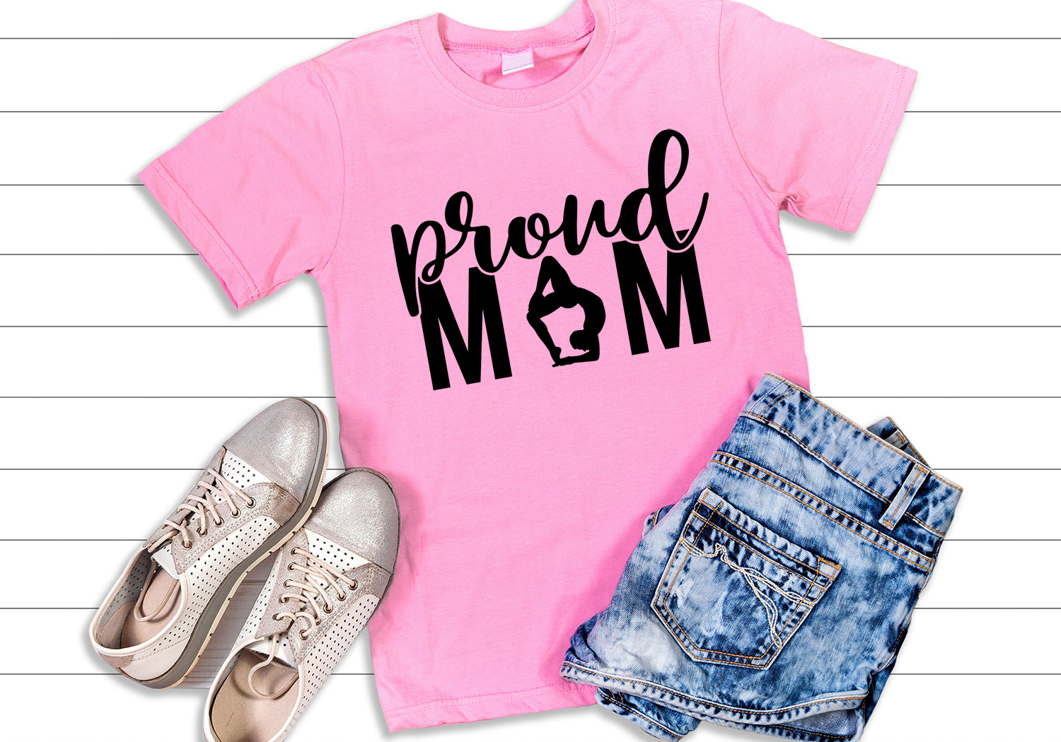 HUGE Proud Mom SVG Cut File Bundle example image 5