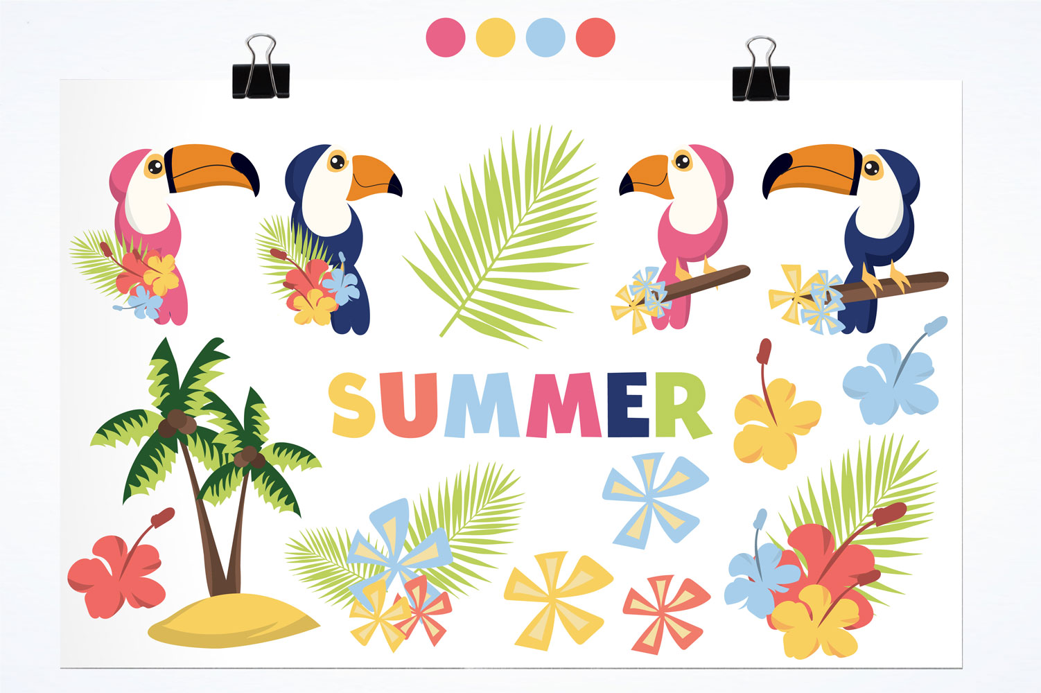 Summer Cute Graphics example image 2