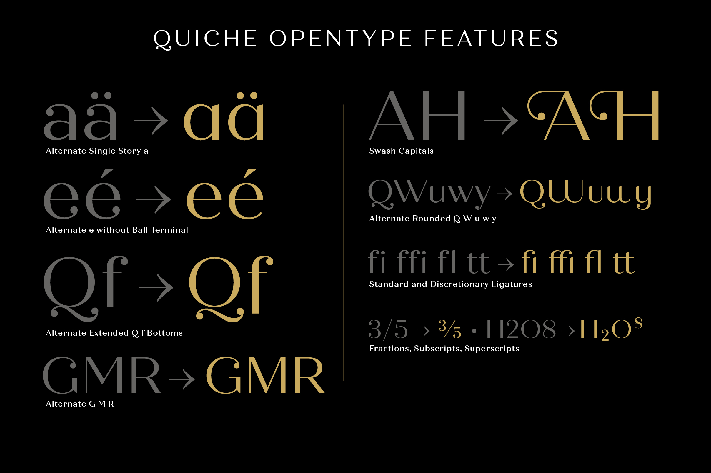 Quiche Display Regular Font example image 11