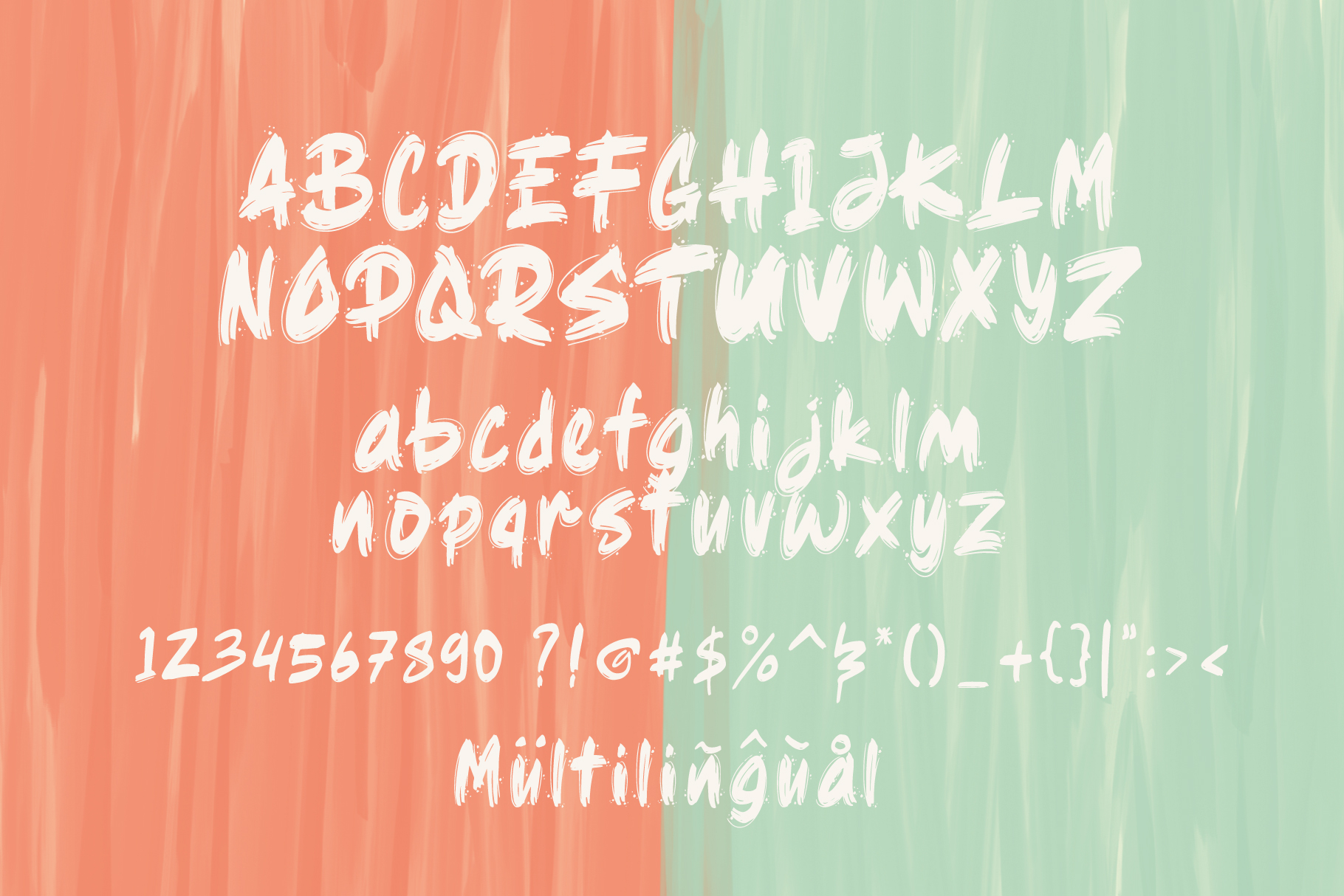 Ragsy | Cartoon layered font example image 4