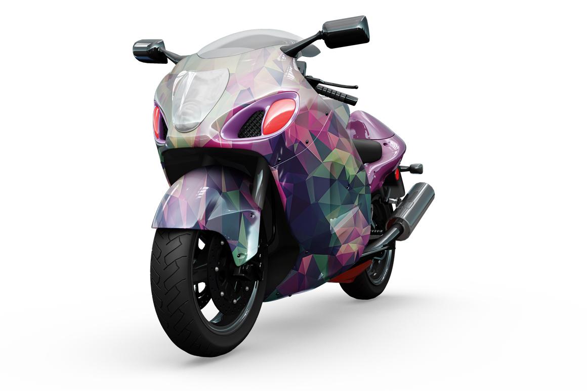 Motorcycle Mockup example image 9