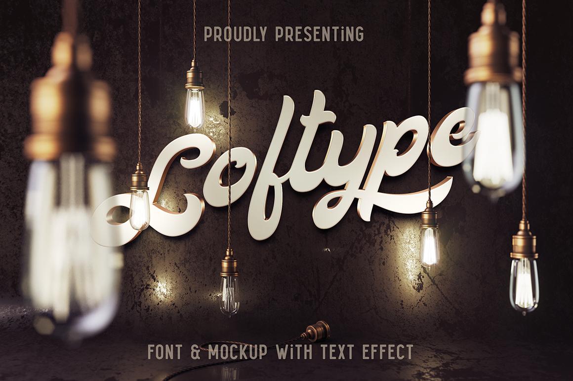 Loftype Font + Mockup example image 1