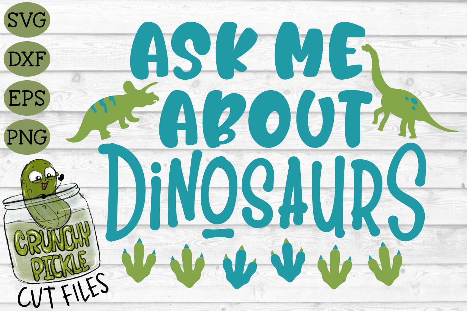 Ask Me About Dinosaurs SVG example image 2