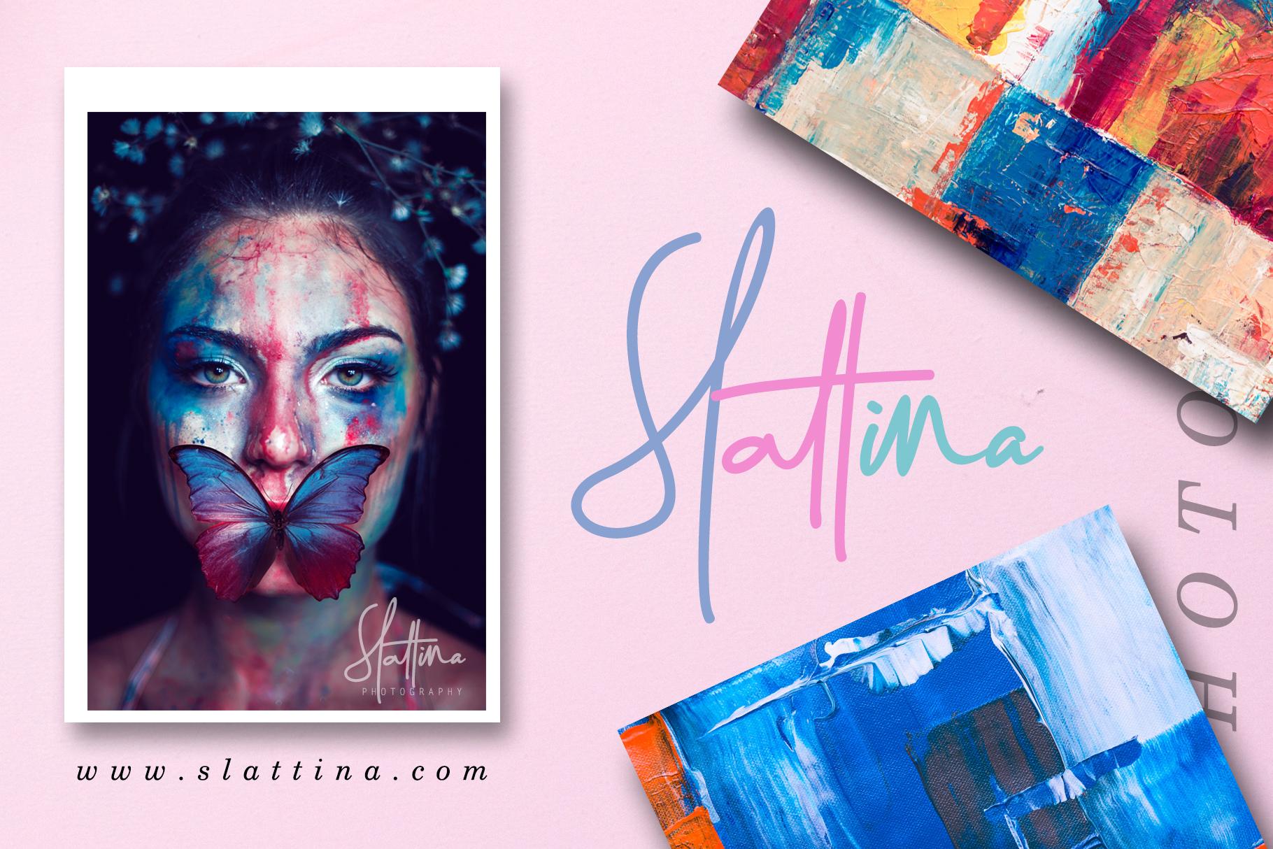 Darling Suttine | Signature Font example image 2